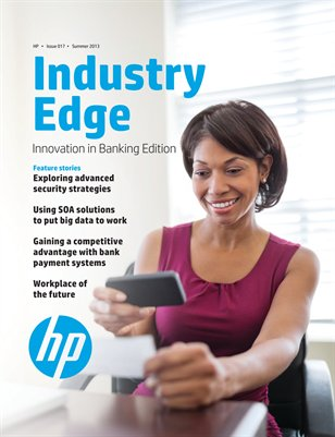 HP Industry Edge: Innovation in Banking edition