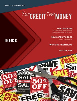 Your CREDIT Your MONEY JanMar 2017