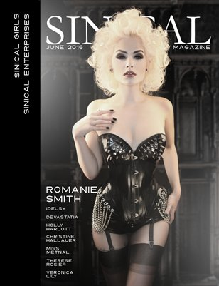 Sinical Girls - June 2016 - Romanie Smith cover edition