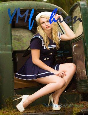 YMfashion Magazine The Blue & White Issue 5