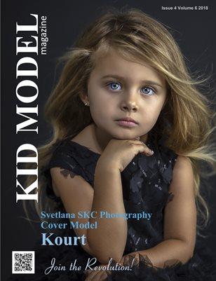 Kid Model magazine Issue 4 Volume 6 2018