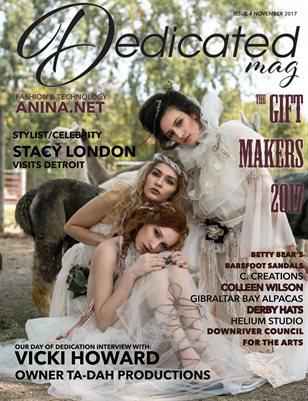 Dedicated Magazine #4 The Gift Makers Nov'17