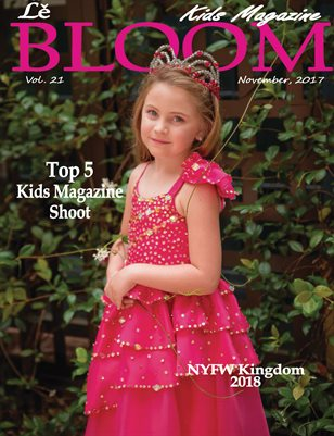 Le Bloom Kids Magazine Pink Diamond Princess