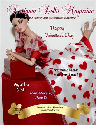 Designer Dolls Magazine - February 2015