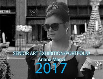 Ariana Manzi, Senior Exhibition/Portfolio