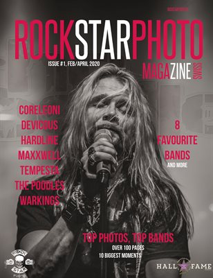 Rockstarphoto Magazine - ISSUE #1, Feb/April 2020