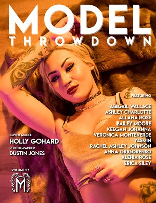 Model Throwdown 57 - Holly GoHard Cover