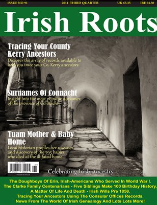 Irish Roots Magazine - Issue No 91