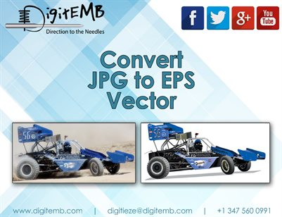 Convert JPG to EPS Vector