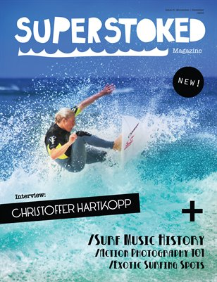 #1 - Superstoked Surfing Magazine