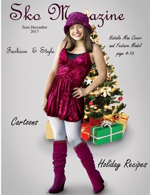 Sko magazine Teen Dec. issue with Natalie