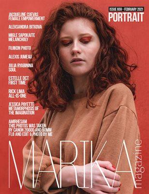 MARIKA MAGAZINE PORTRAIT (ISSUE 659 - February)