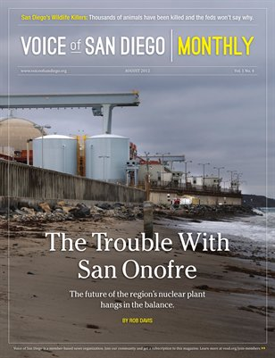 Voice of San Diego Monthly | August 2012