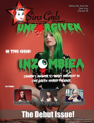 Sins Girls International Magazine - Debut Issue (Inzombiea Cover)