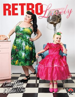 Retro Lovely Mother's Day 2019 Vol.2 - Cookie Mama & Dahlia May Cover