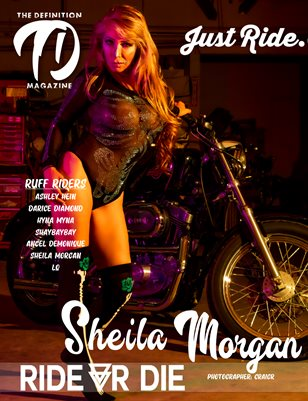The Definition: Sheila Morgan Ride or Die Bike Edition Vol 2 Cover 1 July 2021