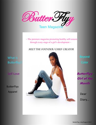 ButterFlyy Teen Magazine - Promo Issue