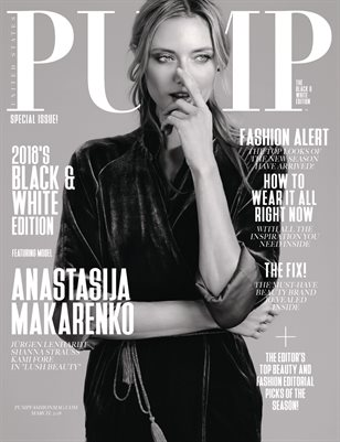 PUMP Magazine - The Black & White Edition Vol. 1