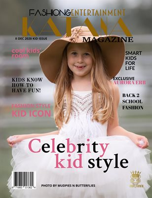 KATANA MAGAZINE III DEC KID HIGH FASHION ISSUE