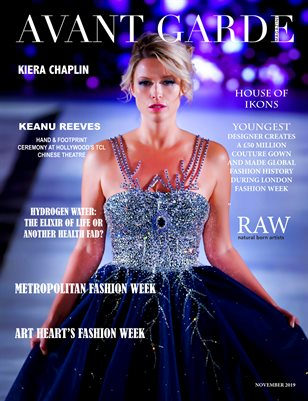 Avant Garde Magazine November Issue 2019