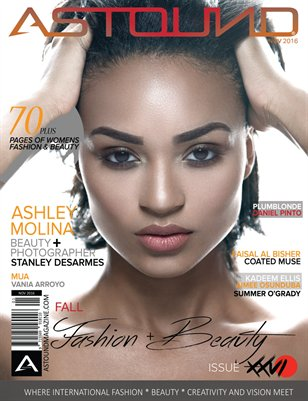 "NOVEMBER 2016 ""FALL FASHION & BEAUTY"" ISSUE XXVI"
