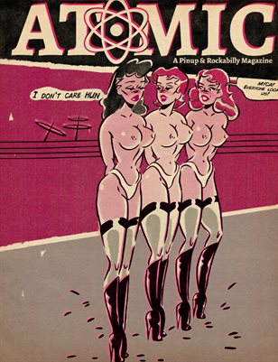 Atomic, A Pinup and Rockabilly Magazine Issue No.04 Vol No.02 TABOO No.1