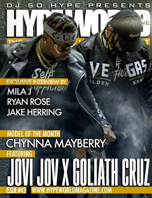 HYPE WORLD MAGAZINE ISSUE #43