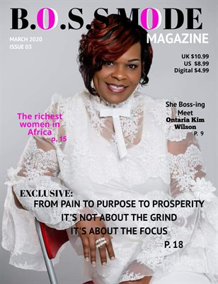 B.O.S.S  Mode Magazine March Edition 2020