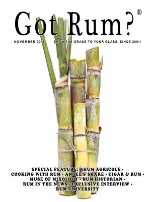 """""""Got Rum?"""" November 2016"""