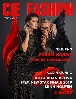 "CIE FASHION MAGAZINE FEATURING PARRIS HARRIS ""WINTER UNDERLAND"" WITH ASELA KUANDIKOVA"