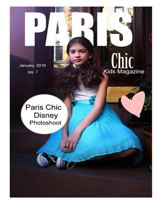 Paris Chic Kids Magazine January