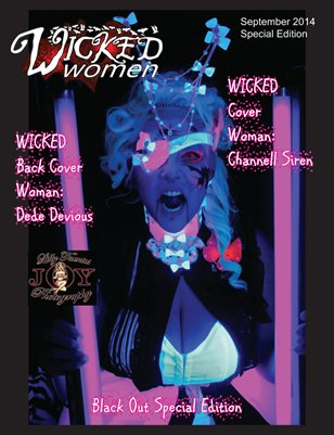 WICKED Women Magazine- Black Out Special Edition: September 2014