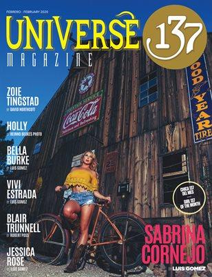 Universe 137 Magazine February 2020