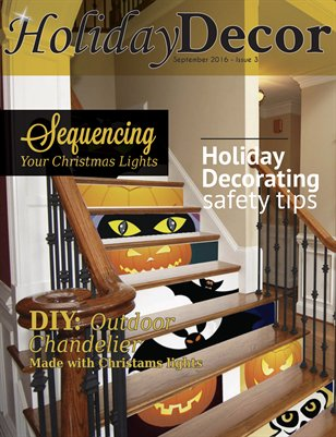 Holiday Decor Magazine - September 2016