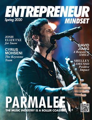 Entrepreneur Mindset magazine feat. Parmalee