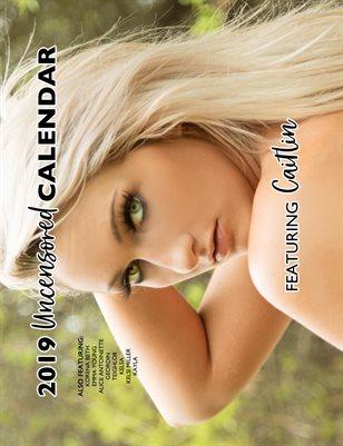 Caitlin 2019 Uncensored Nude Calendar