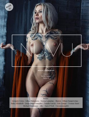 Nuvu Magazine Nude Book 51 Featuring Nattee H.