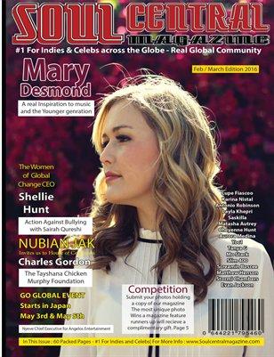 Soul Central Magazine Feb Mar Edition 2016