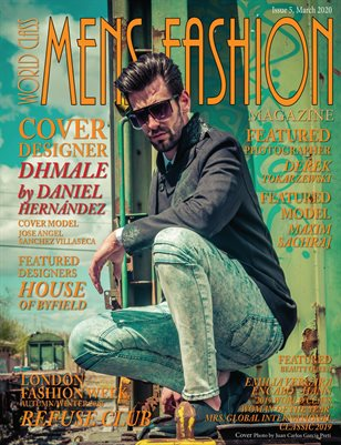 World Class Mens Fashion Magazine, Issue 5 with DHMale