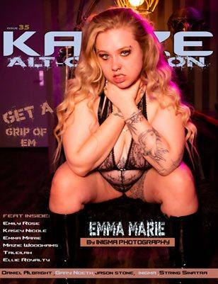 Kayze Magazine issue 35-EMMA MARIE -alt occasion