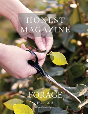Honest Magazine: Forage, Fall 2015