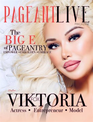 PageantLive Magazine - Viktoria Fox Cover