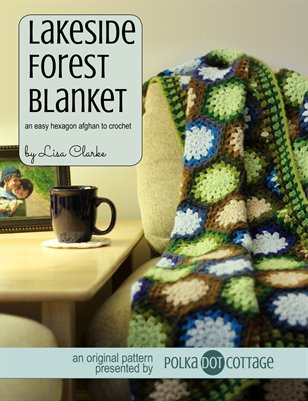 Lakeside Forest Blanket Crochet Pattern