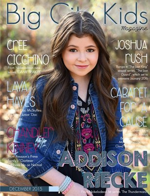 Big City Kids Magazine | December 2015