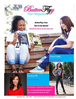 ButterFlyy Teen Magazine - July-Sept. 2014