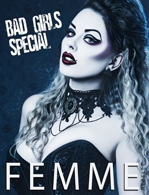 Femme Rebelle Magazine BAD GIRLS SPECIAL - May 2017 Jamie Mahon Cover