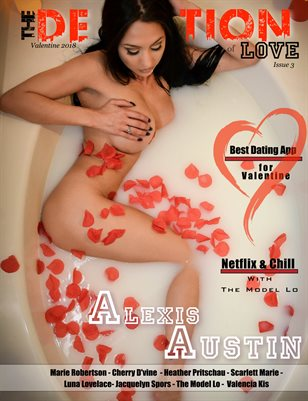 The Definition of LOVE: Valentine's Day issue 3: Cover Model Alexis Austin
