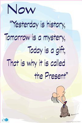 Present, Yesterday and Tomorrow