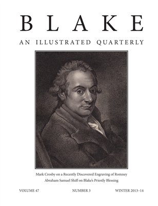 Blake/An Illustrated Quarterly vol. 47, no. 3 (winter 2013-14)