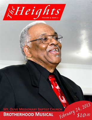 Volume 4 Issue 7 - Mt. Olive Missionary Baptist Church Brotherhood Musical